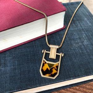 J. Crew Long Pendant Necklace
